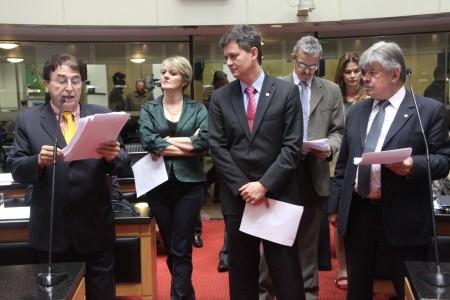 Deputados estaduais de SC aprovaram valores do piso regional (foto: Assessoria de Imprensa/Ass. Legislativa SC)