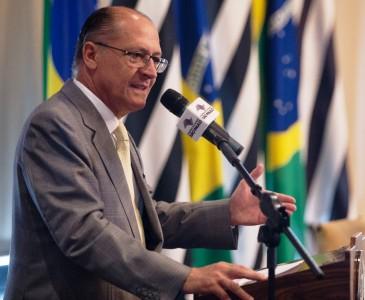 Geraldo Alckmin sancionou novo piso regional paulista (Foto - Ass. Imprensa Gov. Estado SP)