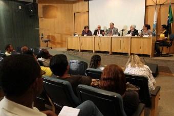 Reunião da Comissão de Trabalho da Assembleia Legislativa do RJ (Foto: Gabriel Esteves/Divulgação Alerj)