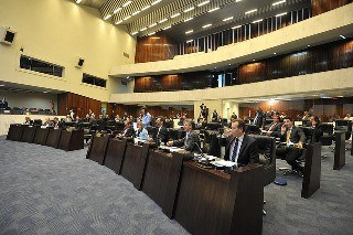 Plenário da Assembleia do Paraná avaliará novo piso regional (Foto: Ass. Legislativa PR)