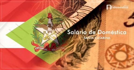 Salário de empregada doméstica em santa catarina (sc)