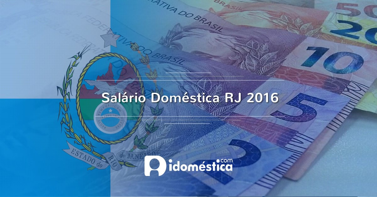 Salário Doméstica RJ 2016 - Proposta chega à Alerj para votação.