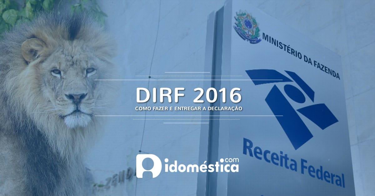 dirf-2016-domestica-como-fazer