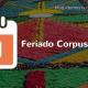 Feriado de Corpus Christi 2016
