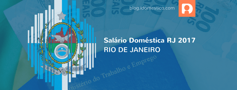 Salário Doméstica RJ 2017