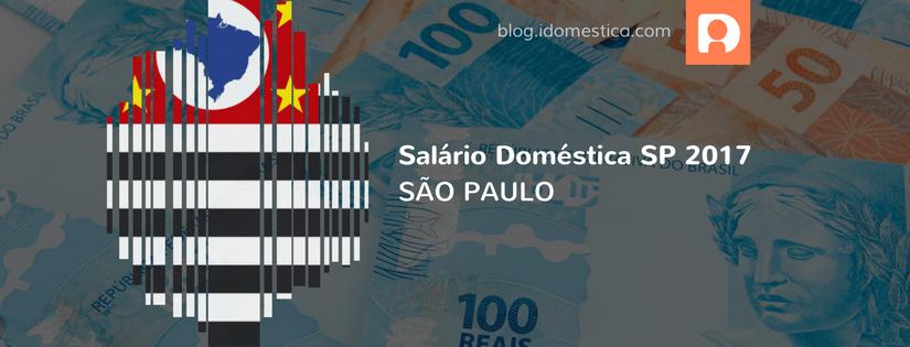 Salário empregada doméstica sp 2017