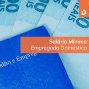 Salário mínimo de empregada doméstica 2018