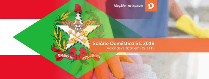 Salário Doméstica SC 2018 - Valor deve ficar em R$ 1110