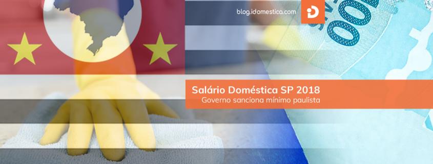 Salário mínimo SP 2018 Empregada Doméstica 2018