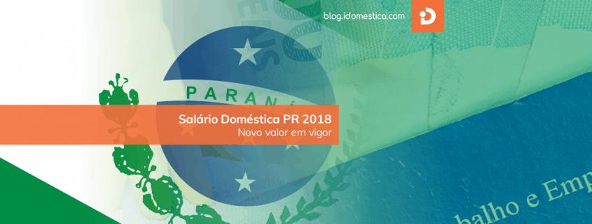 Salário Doméstica Paraná (PR) 2018