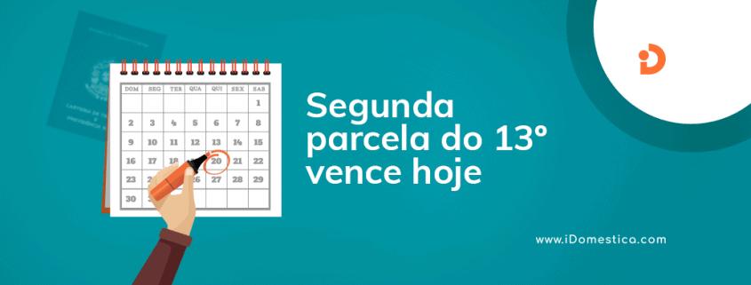Milhares de trabalhadores, inclusive domésticos, devem receber hoje (20), a segunda parcela do décimo terceiro salário referente ao ano de 2018. Confira os detalhes.