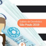 Salário mínimo doméstica SP 2019