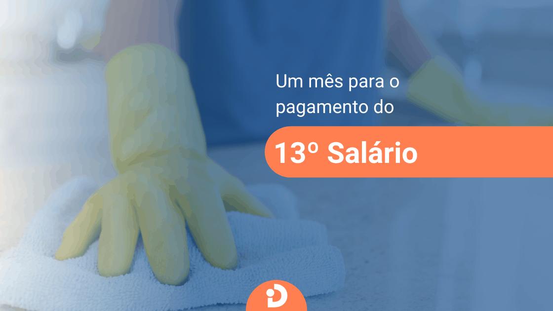 13º salário de empregada doméstica