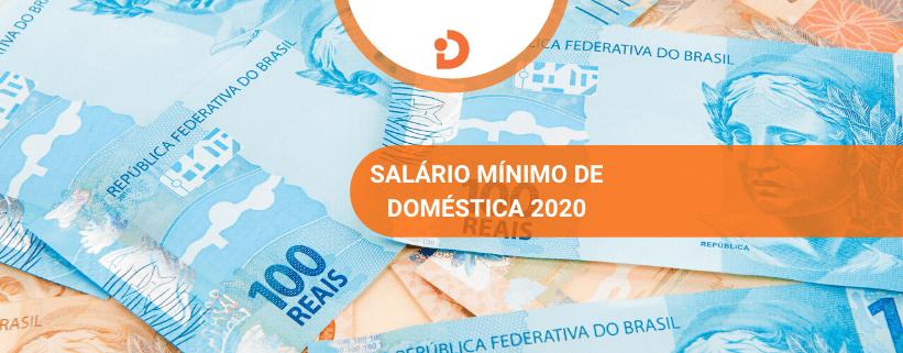 Salario minimo de empregada domestica 2020