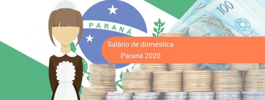O salário mínimo 2020 de empregada doméstica no Paraná já está em vigor