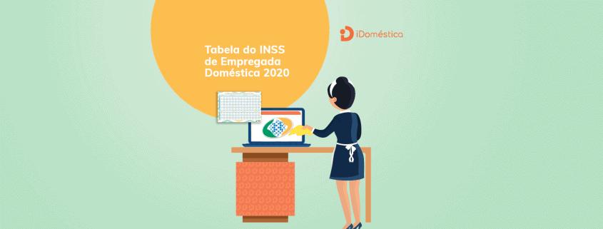 Duas tabelas do INSS da empregada doméstica terão vigência em 2020, uma até março e a outra a partir de março. Empregador precisa ficar atento no desconto do INSS da empregada doméstica