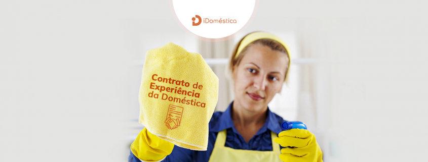 Entenda como funciona o contrato de experiência da empregada doméstica