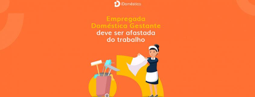 O presidente sancionou a lei que confere à empregada doméstica gestante o direito de ser afastada do trabalho e continuar recebendo remuneração